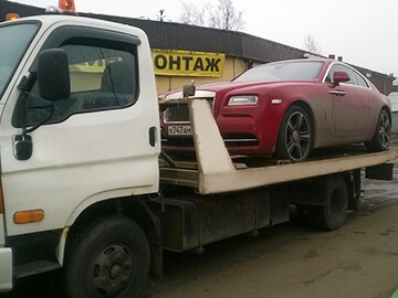 эвакуация rolls royce phantom coupe во Всеволожске